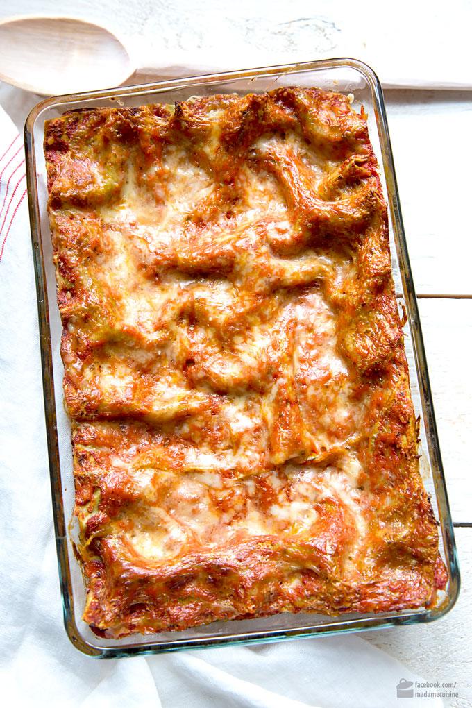 Gemüse-Lasagne mit Spinat: Amore Italia | Madame Cuisine Rezept