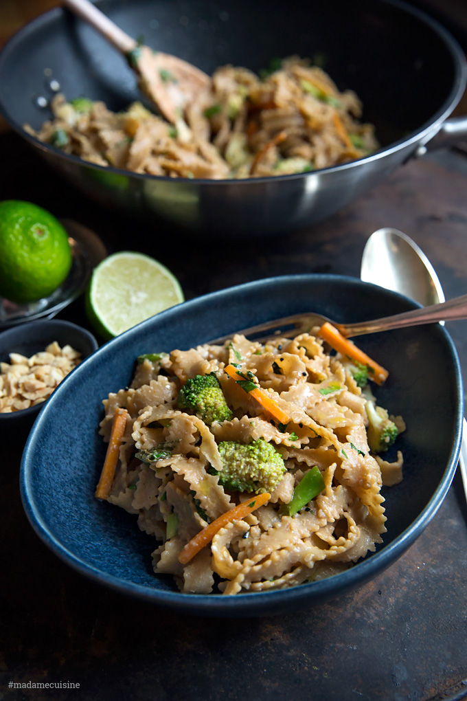 Asia-Nudeln mit Brokkoli und Karotte | Madame Cuisine Rezept
