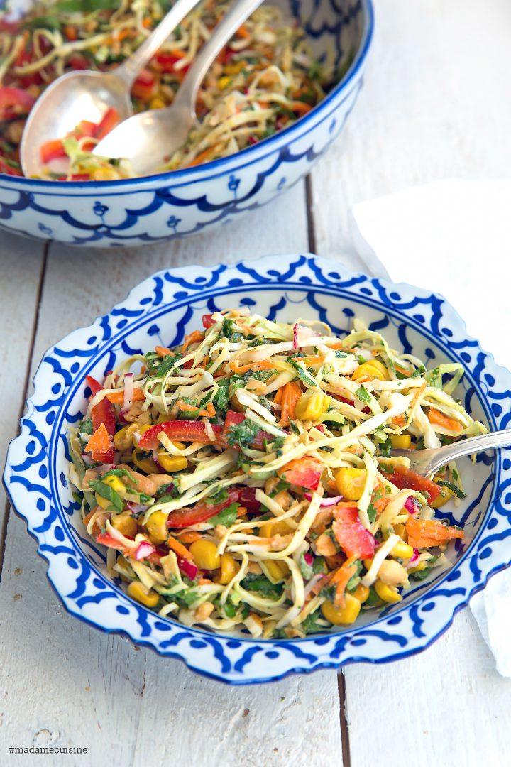 Asiatischer Krautsalat | Madame Cuisine Rezept