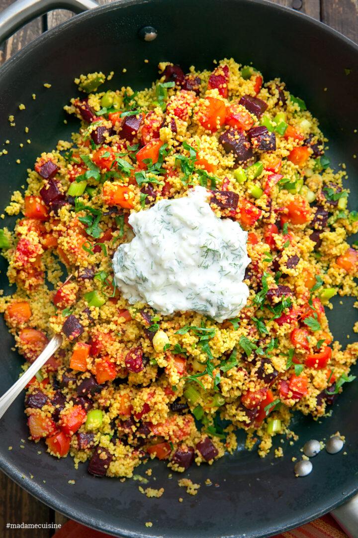 Couscous-Gemüse mit Kürbis und Rote Bete | Madame Cuisine Rezept