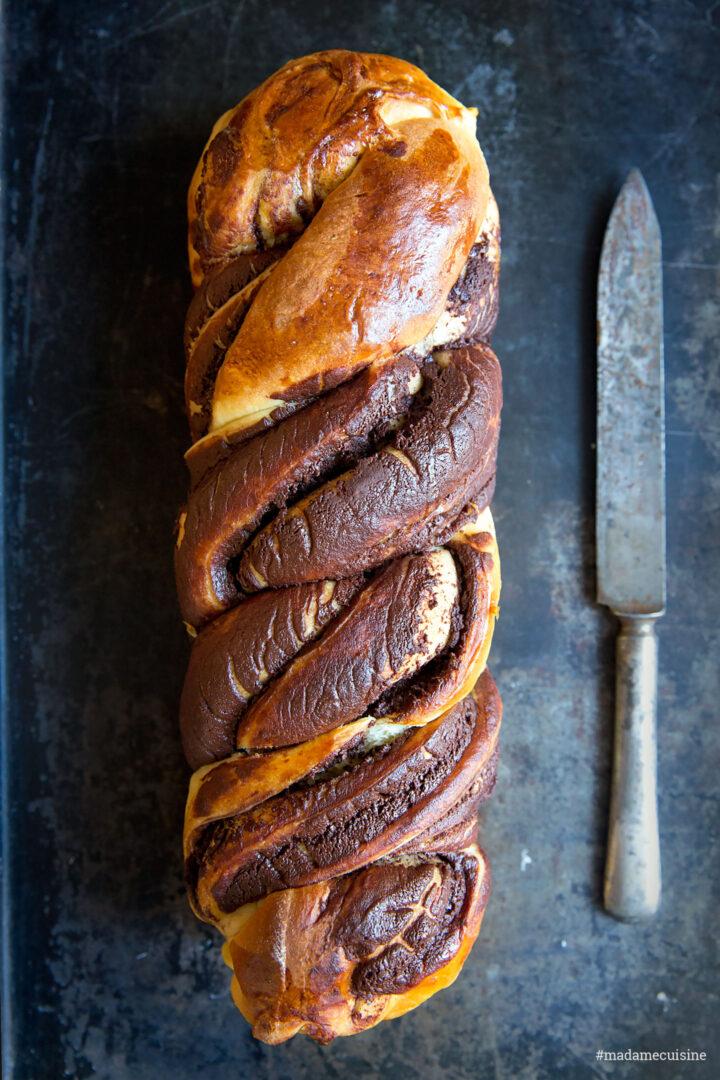 Schokoladen-Babka (Hefezopf) | Madame Cuisine Rezept