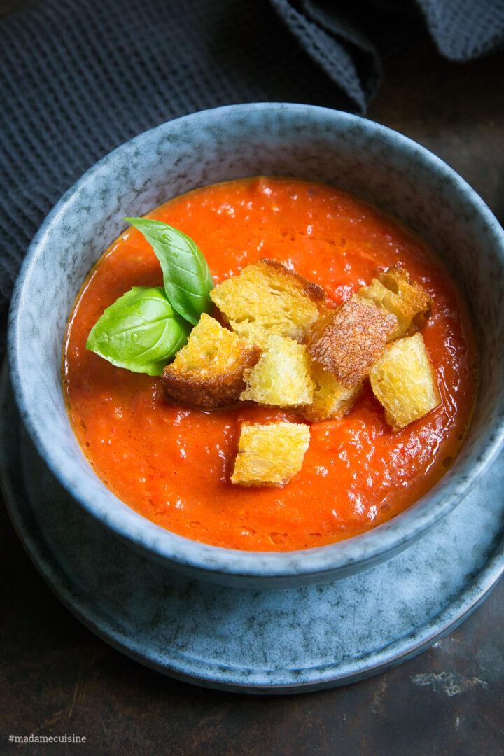 Ofengeröstete Tomatensuppe | Madame Cuisine Rezept
