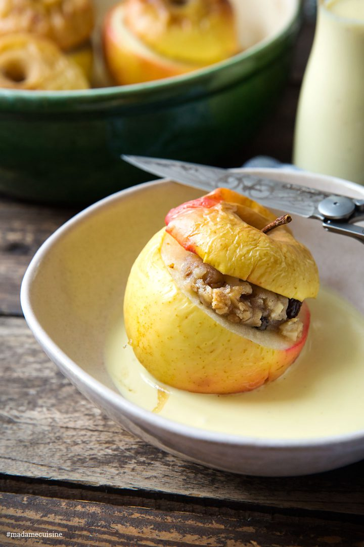 Bratäpfel mit Vanillesauce | Madame Cuisine Rezept