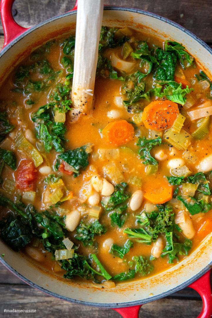 Ribollita: Toskanische Bauernsuppe | Madame Cuisine Rezept