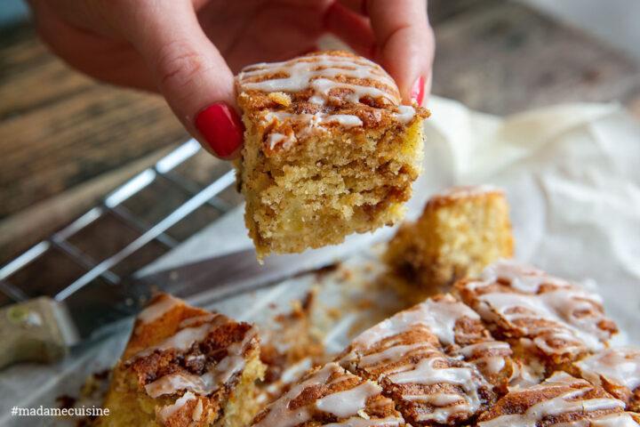 Apfel-Zimt-Brot: Klebrig-süße Leckerei | Madame Cuisine Rezept