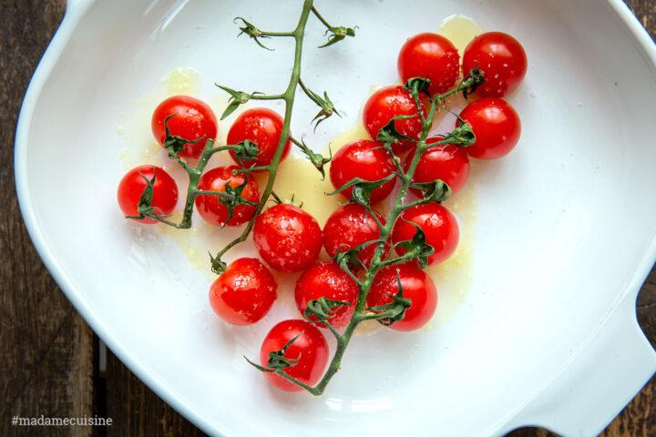 Pilzragout auf Parmesan-Polenta   Madame Cuisine Rezept