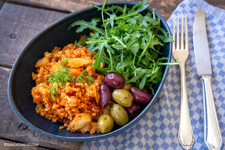Cajun Quinoa Bowl mit Fenchel und Paprika