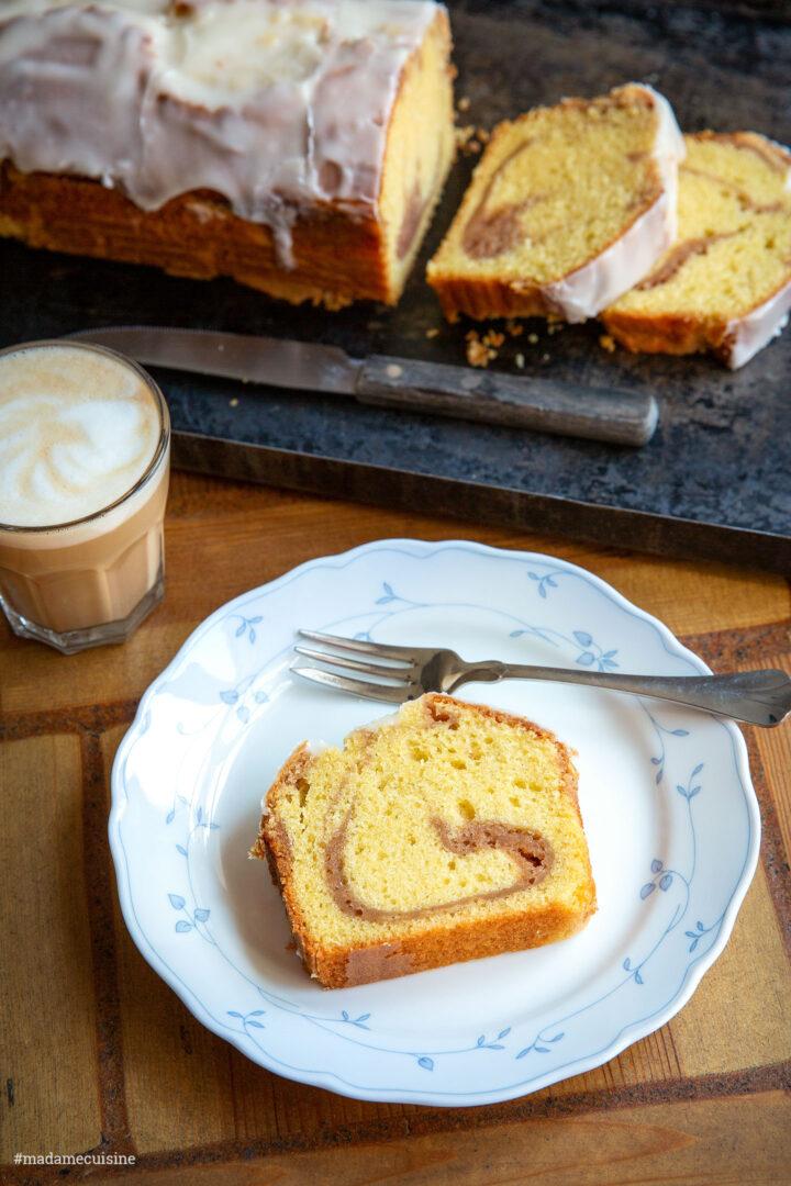 Erdbeer-Swirl-Kuchen | Madame Cuisine Rezept