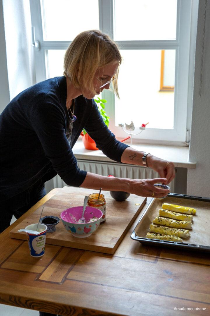 Börek mit Ziegenkäse und Hagebutten | Madame Cuisine Rezept