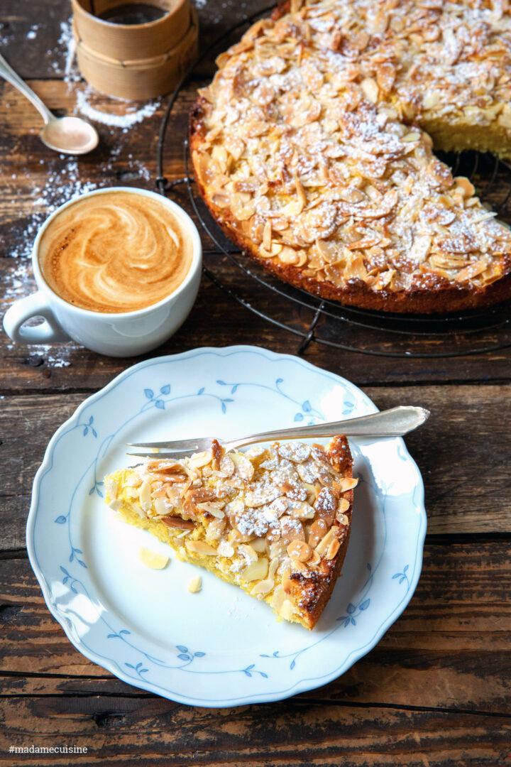 Kokos-Mandelkuchen glutenfrei | Madame Cuisine Rezept