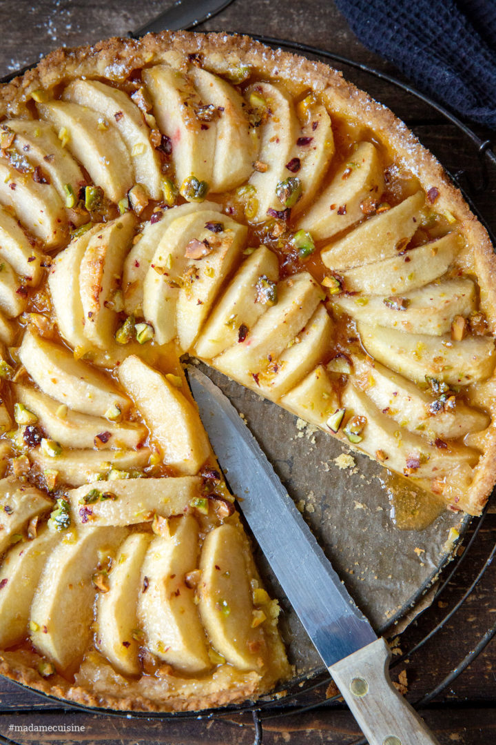 Italienischer Apfelkuchen: Crostata di Mele | Madame Cuisine Rezept