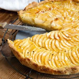 Französische Apfeltarte – Lieblingskuchen | Madame Cuisine Rezept