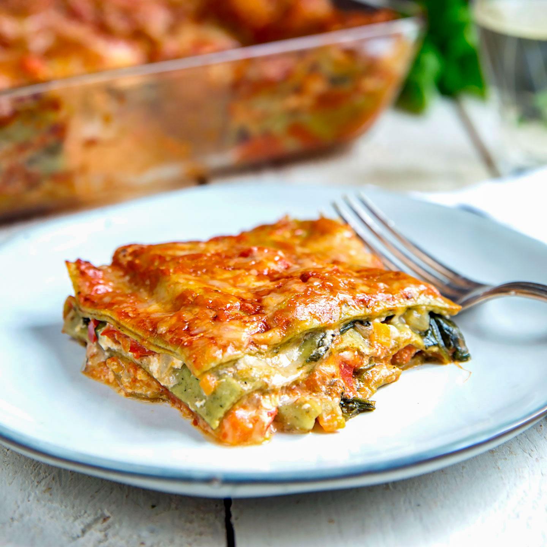 Gemüse Lasagne mit Spinat Amore Italia
