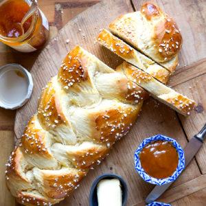 Hefezopf (oder Osterkranz) | Madame Cuisine Rezept