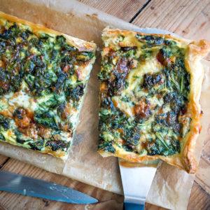 Blätterteig-Tarte mit Spinat & Gorgonzola | Madame Cuisine Rezept