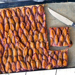 Zwetschgenkuchen vom Blech (Zwetschgendatschi)   Madame Cuisine Rezept