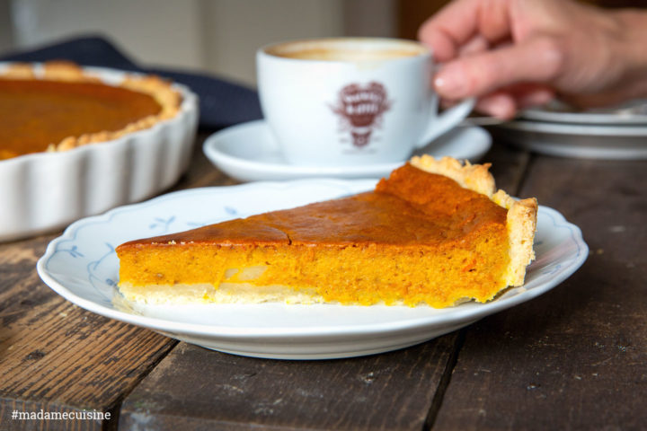 Pumpkin Pie: Kürbiskuchen | Madame Cuisine Rezept