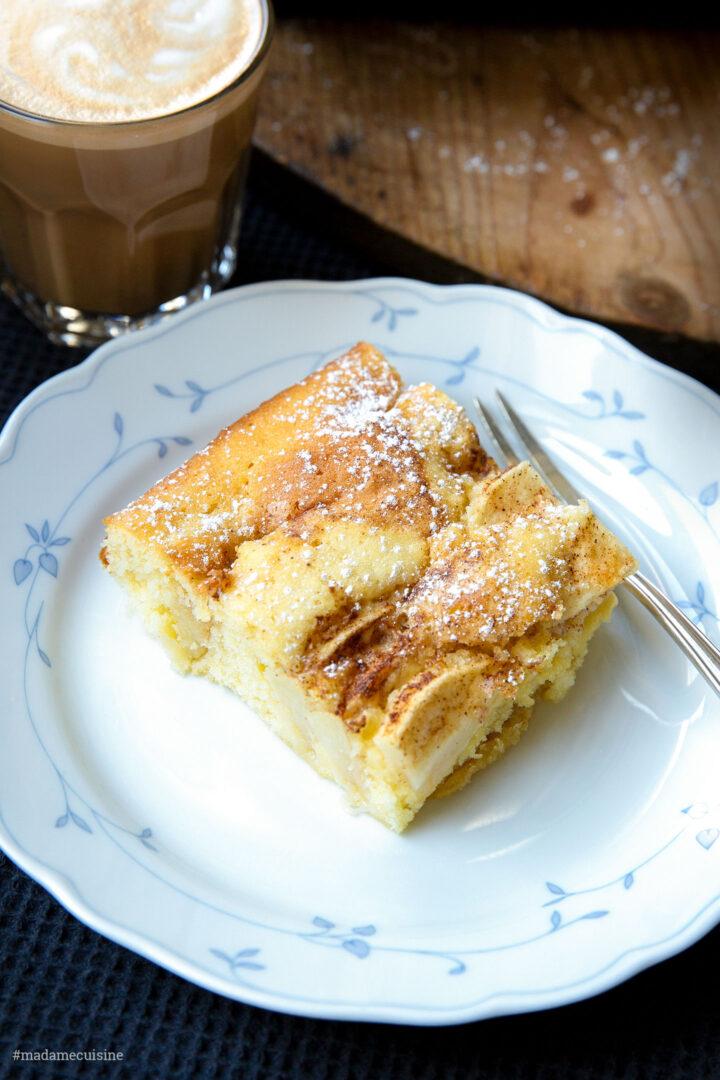 Schwedischer Apfelbiskuit mit Zimt | Madame Cuisine Rezept