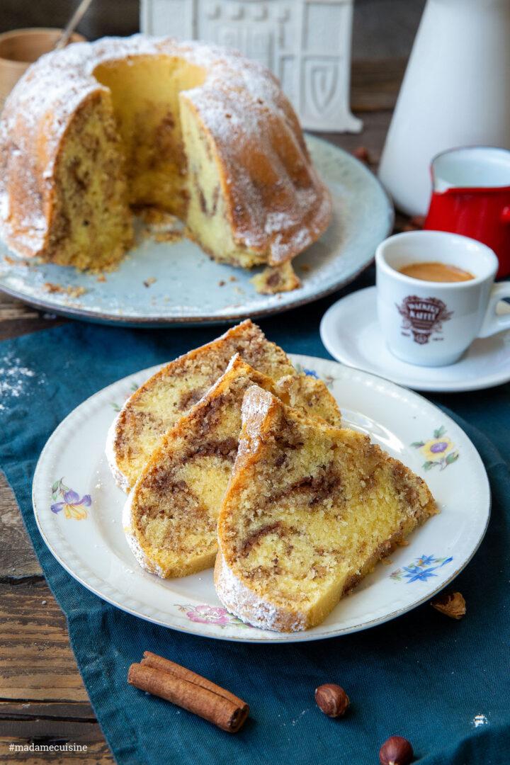 Saftiger Nusskuchen Gugelhupf | Madame Cuisine Rezept