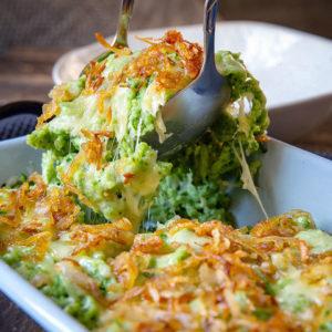 Spinatspätzle mit Käse und Röstzwiebeln | Madame Cuisine Rezept