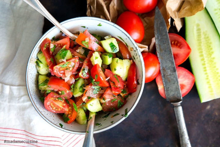 Tomaten-Gurken-Salat | Madame Cuisine Rezept