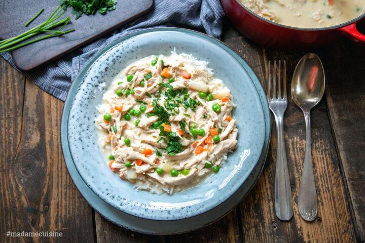 Hühnerfrikassee wie bei Mutti | Madame Cuisine Rezept