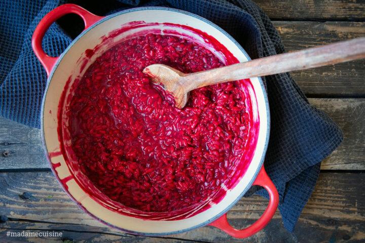 Rote Bete Risotto | Madame Cuisine Rezept
