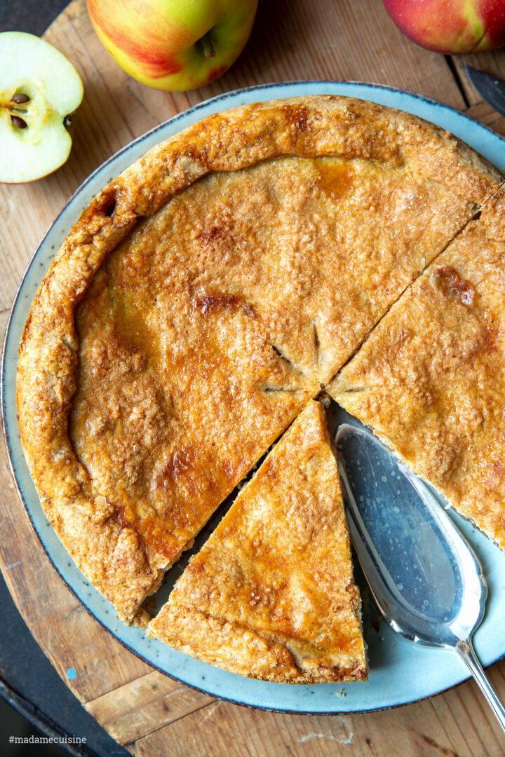 Gedeckter Apfelkuchen | Madame Cuisine Rezept