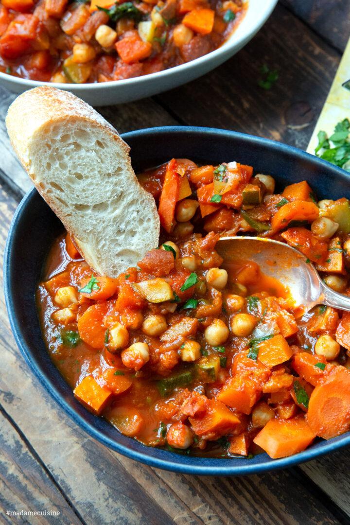 Marokkanischer Kichererbsen-Eintopf | Madame Cuisine Rezept