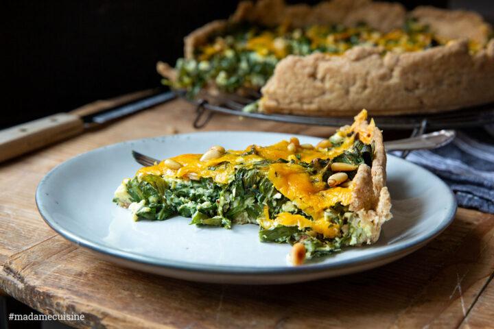 Bärlauch-Quiche: Der Frühling ist da | Madame Cuisine Rezept