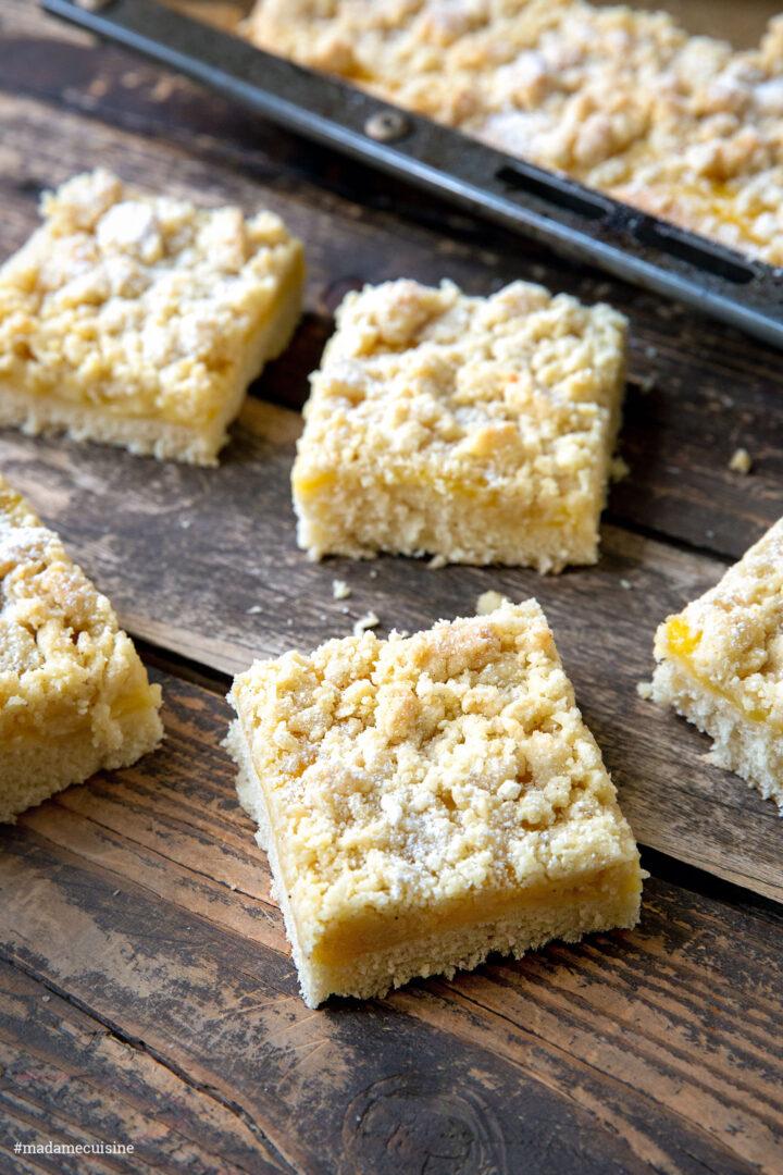 Veganer Pudding-Streuselkuchen | Madame Cuisine Rezept