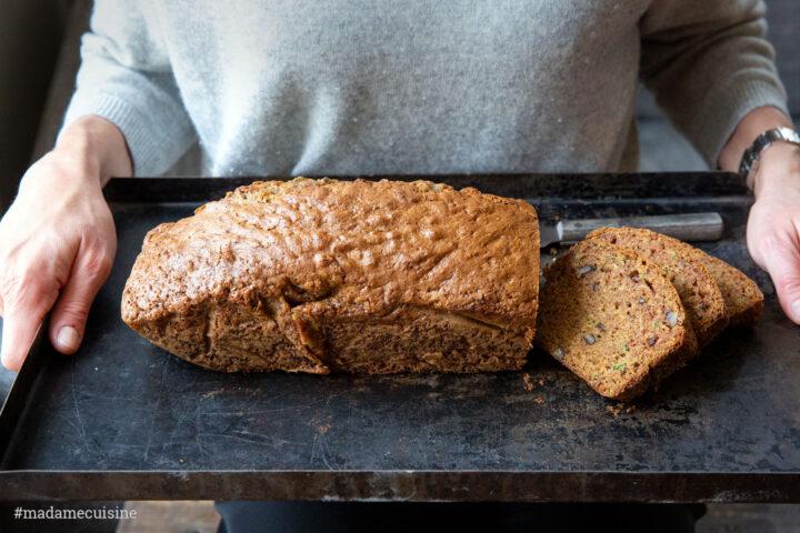 Saftiger Zucchini-Kuchen | Madame Cuisine Rezept