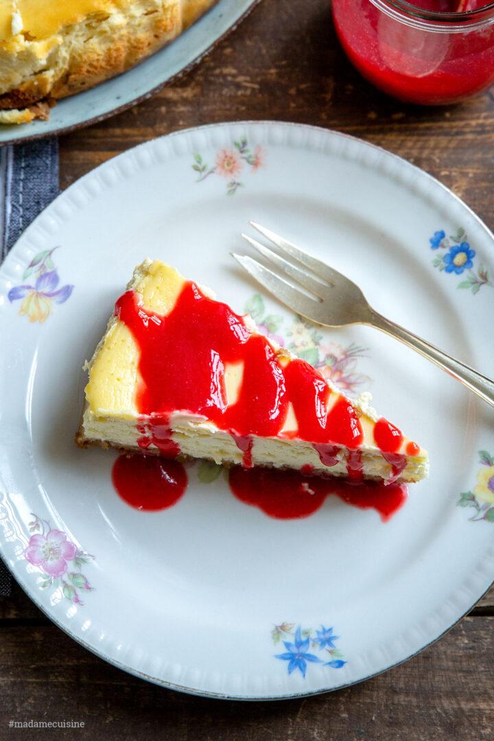 Himbeer-Cheesecake | Madame Cuisine Rezept