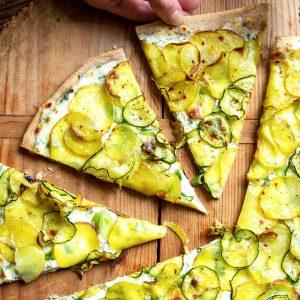 Kartoffel-Pizza mit Zucchini | Madame Cuisine Rezept