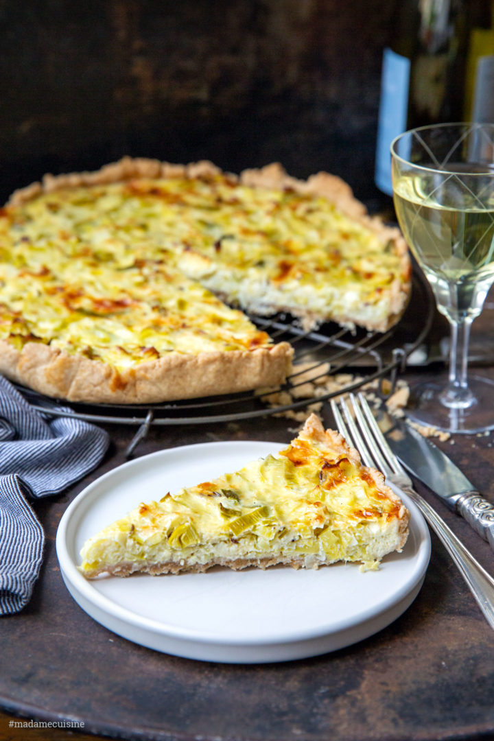 Quiche mit Lauch (Porree-Quiche) | Madame Cuisine Rezept