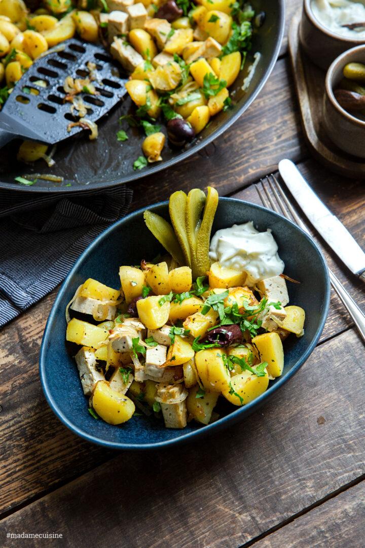 Pyttipanna: Schwedische Kartoffelpfanne   Madame Cuisine Rezept