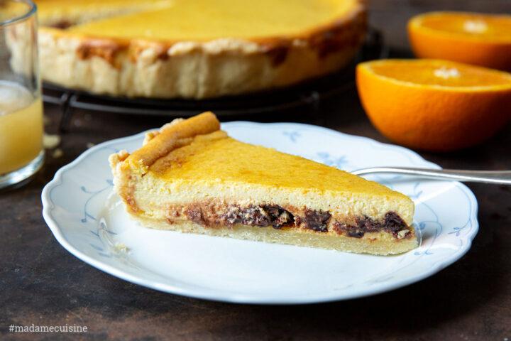 Orangen-Schoko-Tarte mit Pastis | Madame Cuisine Rezept