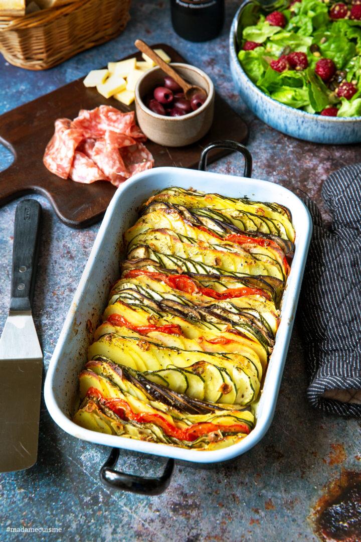 Tian Provençal – Gemüsegratin aus Frankreich | Madame Cuisine Rezept