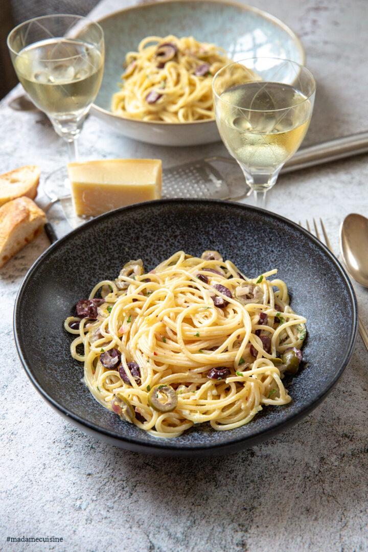 Spaghetti al Limone (Pasta mit Zitrone) | Madame Cuisine Rezept