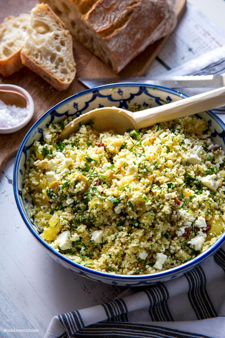 Couscous mit Orangen und Feta | Madame Cuisine Rezept