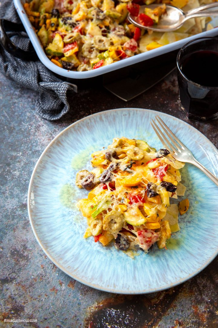 Pane Carasau im Ofen überbacken   Madame Cuisine Rezept