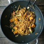 Chinesische Eier-Nudeln mit gebratenem Tofu | Madame Cuisine Rezept