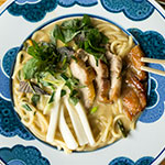 Asia-Fusion: Char Siu Ramen, Pickled Kohlrabi & Shiso | Madame Cuisine Rezept
