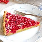 Johannisbeer-Tarte mit Marzipan-Schmand-Füllung | Madame Cuisine Rezept