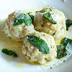 Südtiroler Käseknödel mit Salbeibutter | Madame Cuisine Rezept