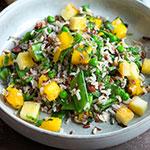 Wildreissalat mit Mango & Paneer | Madame Cuisine Rezept