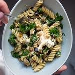 Fusilli mit Walnuss-Pesto & Auberginen | Madame Cuisine Rezept