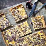Zwiebelkuchen mit Holundergelee | Madame Cuisine Rezept