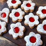 Spitzbuben-Kekse: Doppeldecker mit Marmelade | Madame Cuisine Rezept