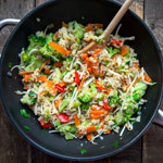 Asia-Bratreis mit knackigem Gemüse | Madame Cuisine Rezept